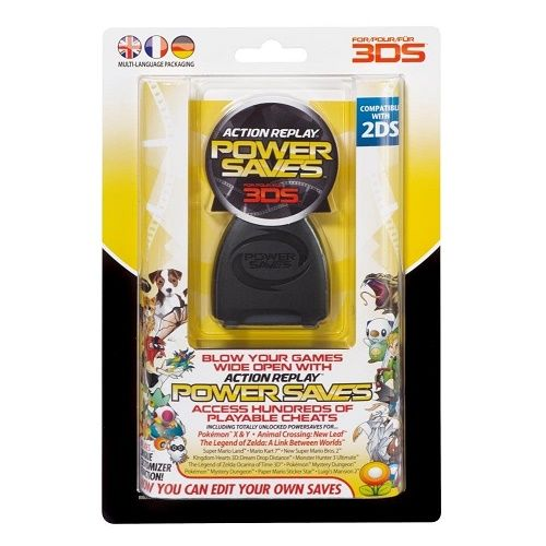 Action Replay Powersaves 3DS Game
