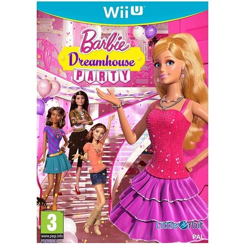 Barbie Dreanhouse Party Wii U Game