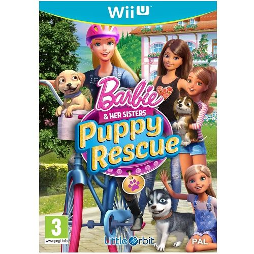 Barbie and Her Sisters Puppy Rescue Wii U Game