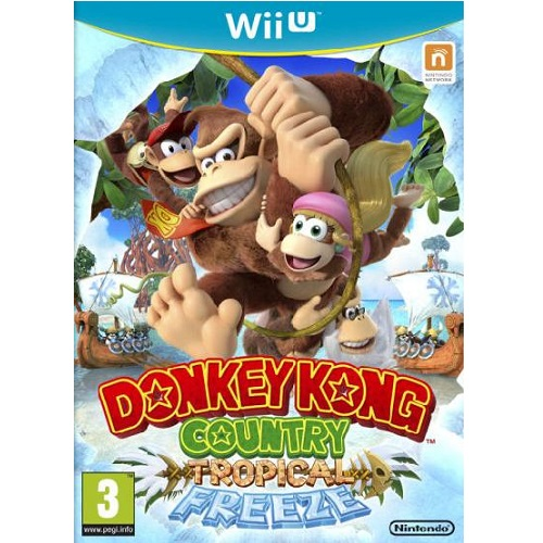 Donkey Kong Country Tropical Freeze Wii U Game