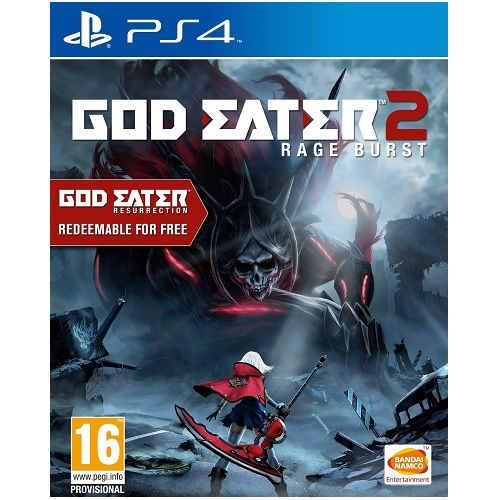 God Eater 2 Rage Burst PS4 Game