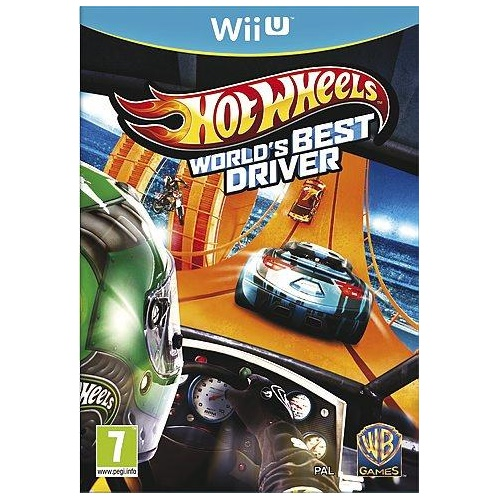 Hot Wheels Worlds Best Driver Wii U Game