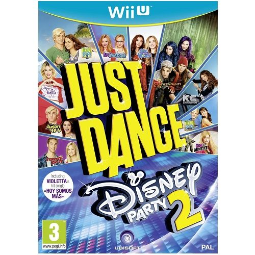 Just Dance Disney Party 2 Wii U Game