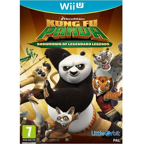 Kung Fu Panda Showdown of Legendary Legends Wii U Game