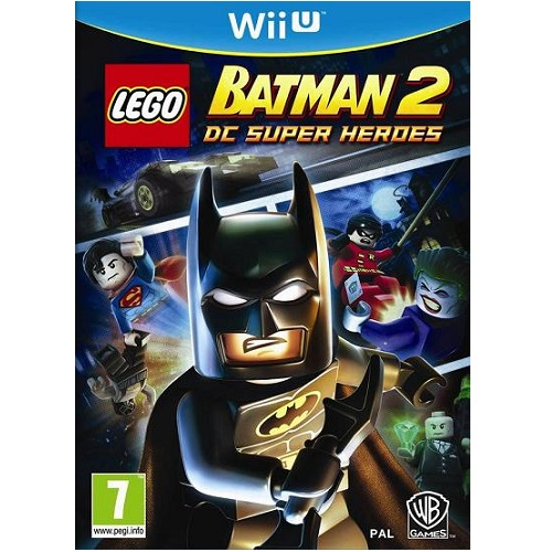 LEGO Batman 2 DC Superheroes Wii U Game