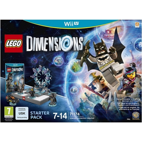 LEGO Dimensions Starter Pack Wii U Game