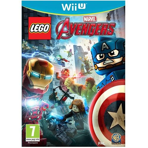 LEGO Marvel Avengers Wii U Game