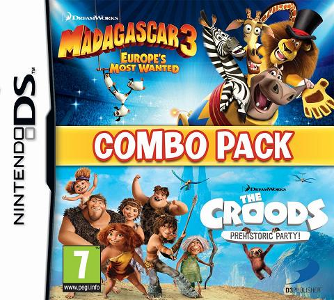 Madagascar 3+The Croods Double Pack for DS