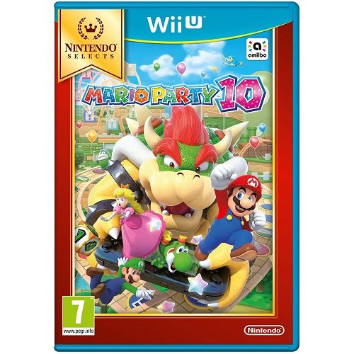 Mario Party 10 [Selects] Wii U Game