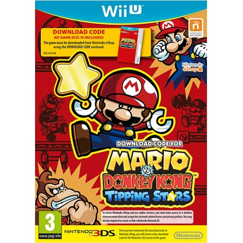 Mario vs Donkey Kong Tipping Stars Wii U Game