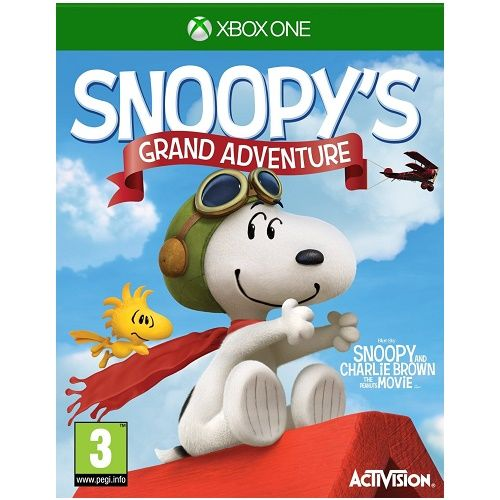 Peanuts Movie Snoopys Grand Adventure Xbox One Game