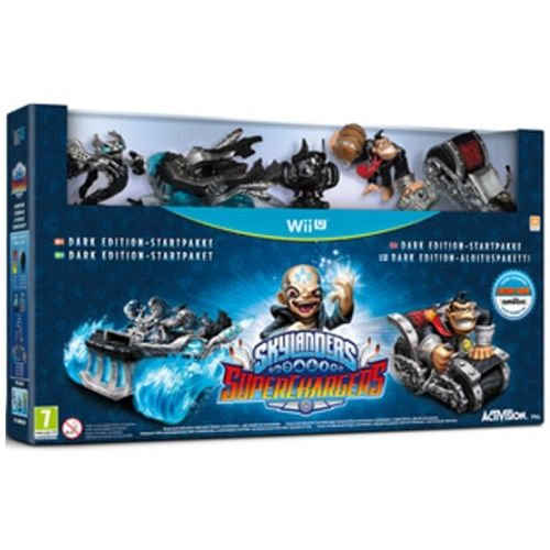 Skylanders Superchargers Dark Edition Wii U Game
