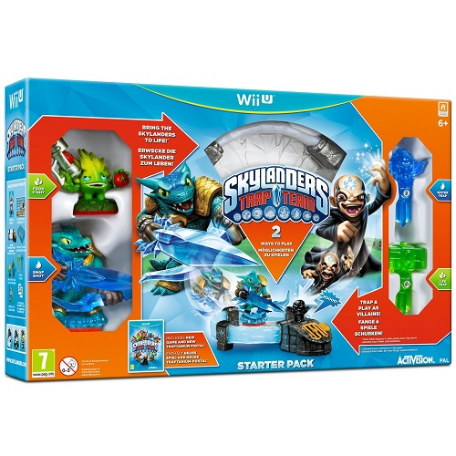 Skylanders Trap Team Starter Pack Wii U Game