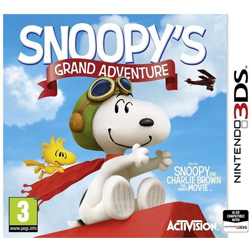 Snoopys Grand Adventure 3DS Game