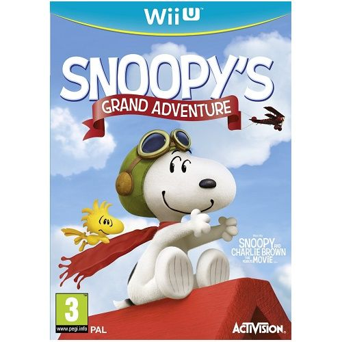 Snoopys Grand Adventure Wii U Game