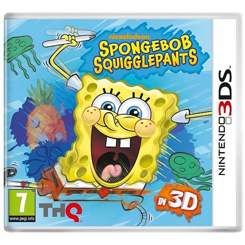 SpongeBob SquigglePants 3DS Game
