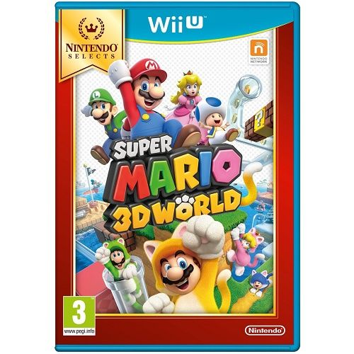 Super Mario 3D World [Selects] Wii U Game