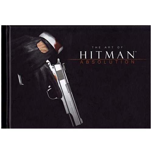 The Art of Hitman Absolution Book Artbook