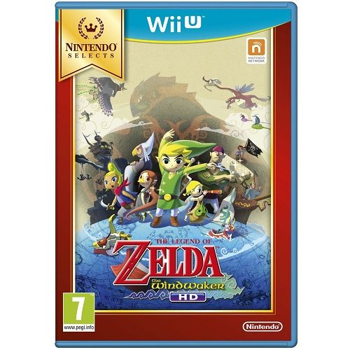 The Legend of Zelda The Wind Waker HD [Selects] Wii U Game