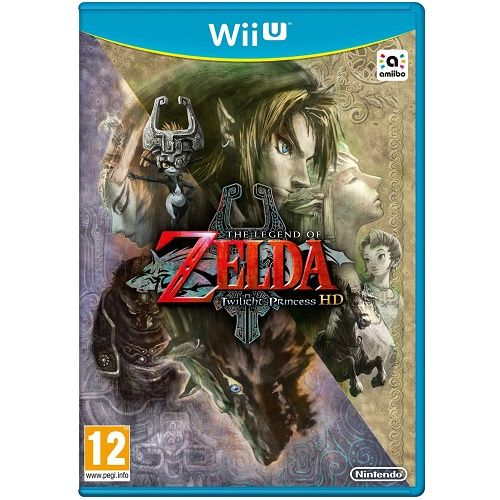 The Legend of Zelda Twilight Princess HD Wii U Game