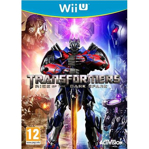 Transformers Rise of the Dark Spark Wii U Game