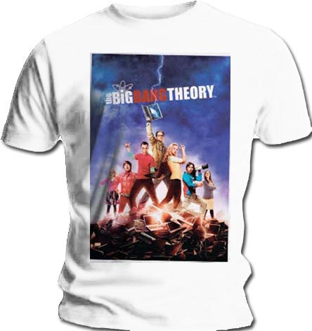 Big Bang Theory Poster (Medium) T-Shirt