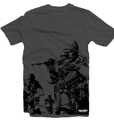Call of Duty Black Ops Black Squad T-Shirt
