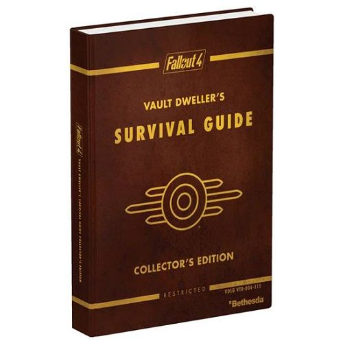 Fallout 4 Collectors Edition Hardback Guide