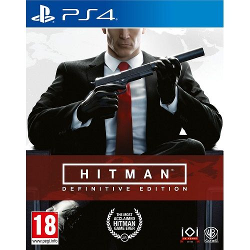 HITMAN Definitive Edition PS4 Game