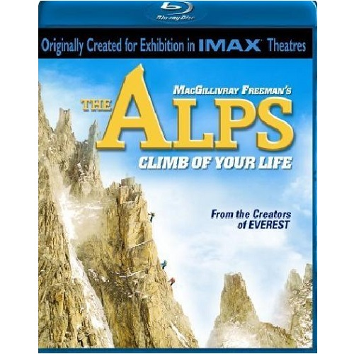 IMAX The Alps Climb Of Your Life [Blu-ray]