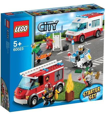 LEGO City Town Starter Playset 60023