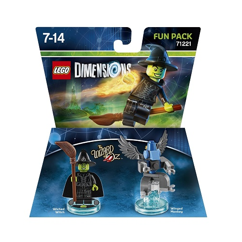 LEGO Dimensions Fun Pack Wizard of Oz Wicked Witch Of The West