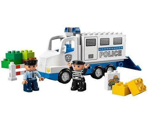 Lego DuploVille Police Truck (5680) - Toys