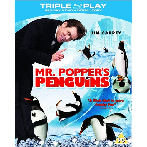 Mr Poppers Penguins Triple Play [Blu-ray]