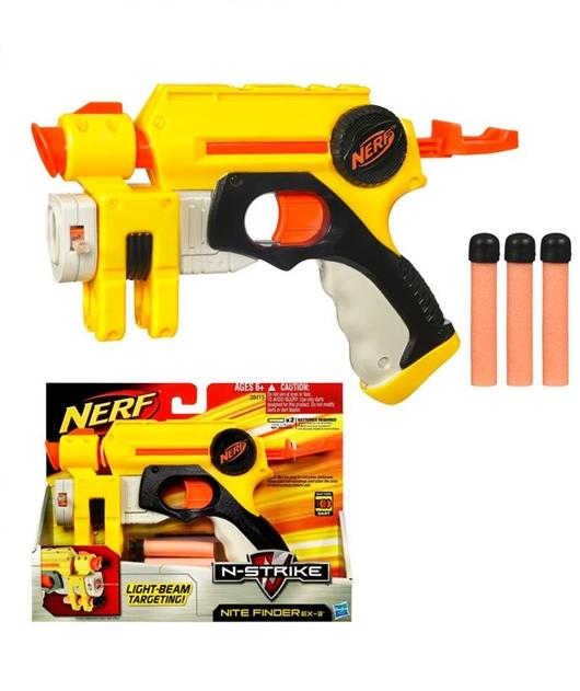 Buy NERF N-Strike Nite Finder EX-3 - Toys from Gamereload.co.uk | Free UK delivery
