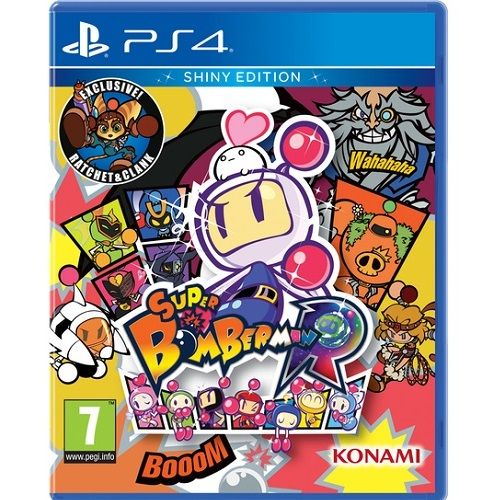 Super Bomberman R Shiny Edition PS4 Game