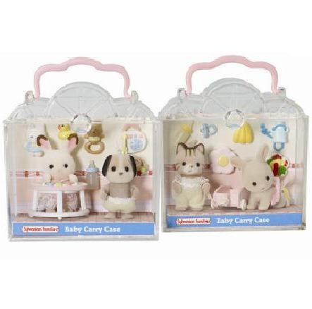 Sylvanian Families Carry Case Delightful Duo - Toys