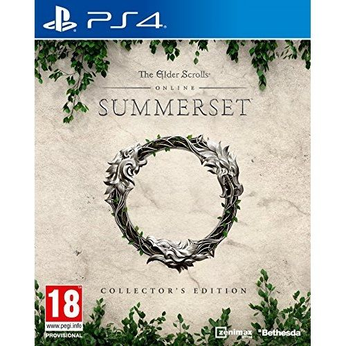 The Elder Scrolls Online Summerset Collectors Edition PS4 Game