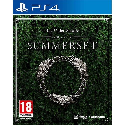 The Elder Scrolls Online Summerset PS4 Game