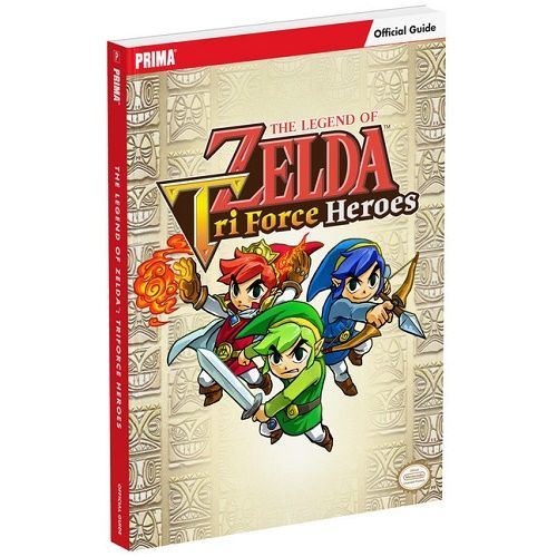 The Legend Of Zelda Tri Force Heroes Official Guide