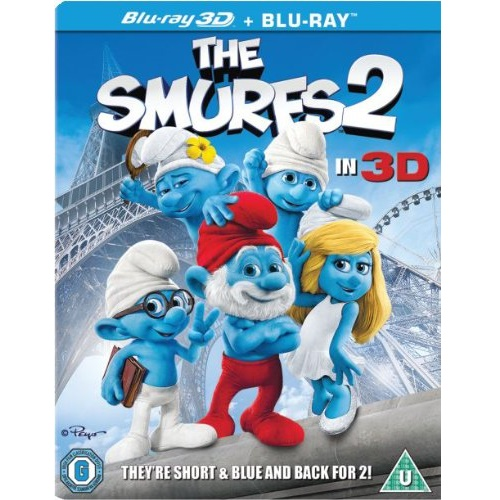 The Smurfs 3D [Blu-ray]