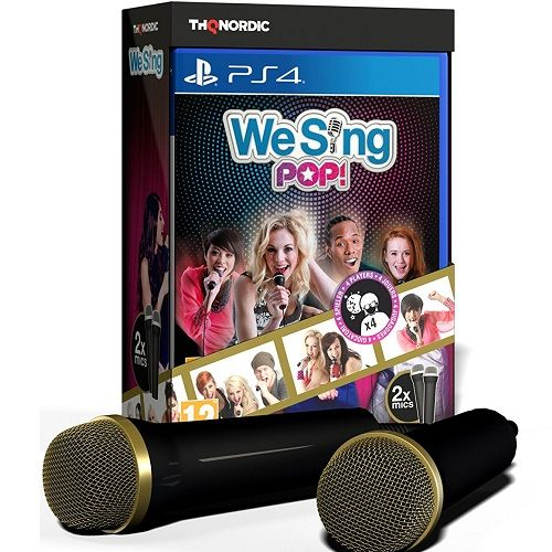 We Sing Pop! [2 Mic Bundle] PS4 Game
