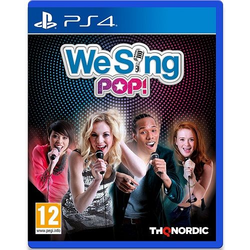 We Sing Pop! PS4 Game