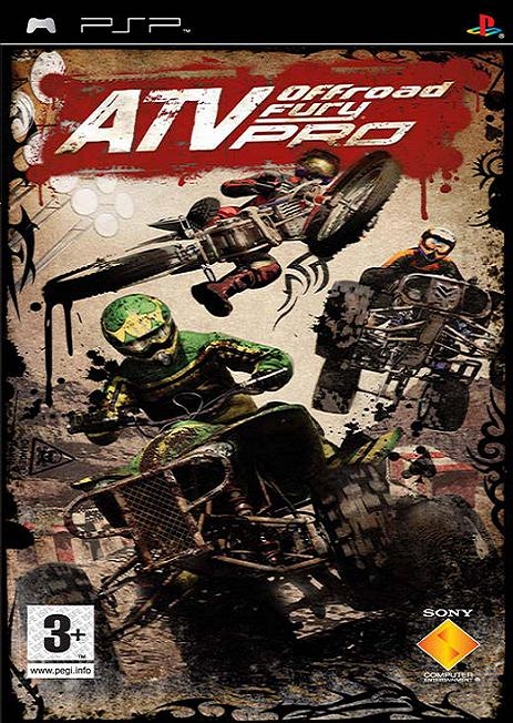 ATV Off-Road Fury Pro [Essentials] PSP Game