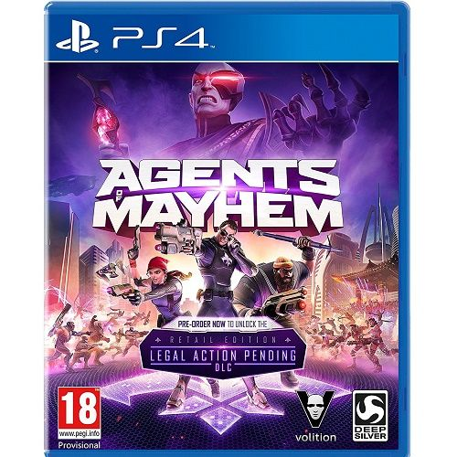 Agents of Mayhem Playstation PS4 | Gamereload