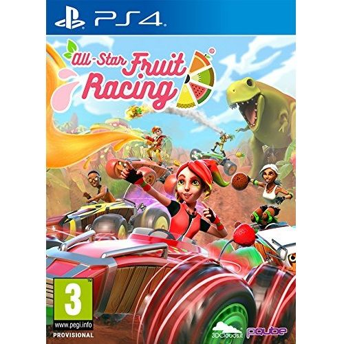 All Star Fruit Racing PS4 Game