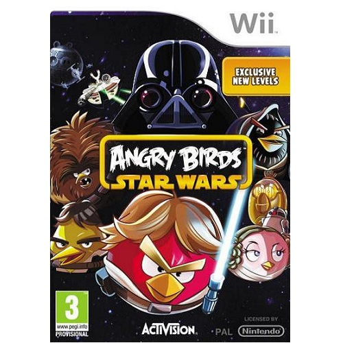 Angry Birds Star Wars Nintendo Wii Game
