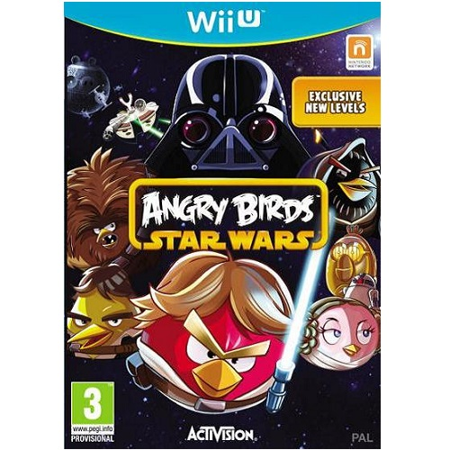 Angry Birds Star Wars Wii U Game