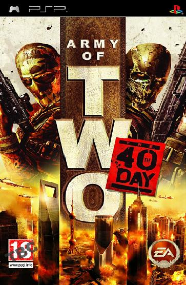 Army of Two The 40th Day [Essentials] PSP Game