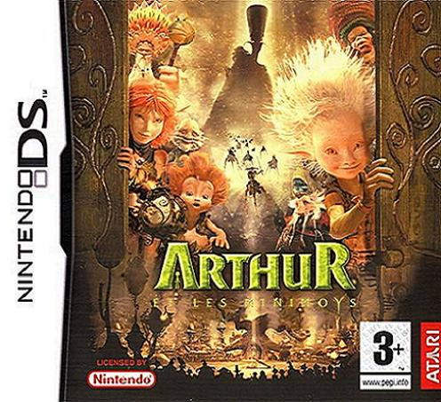 Arthur and the Invisibles Nintendo DS Game